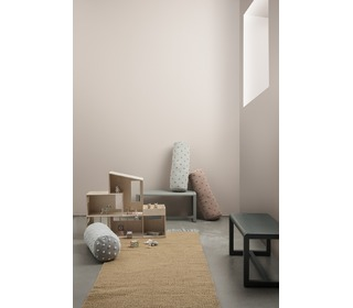 Little architect bench - grey - Ferm Living