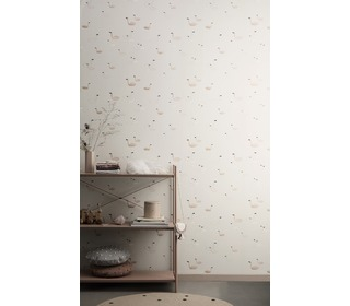 behang Swan - Rose - Ferm Living