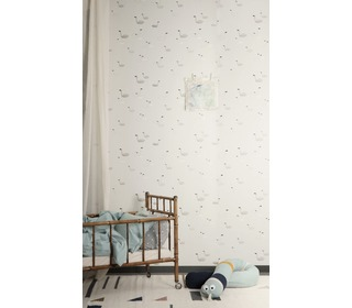 behang Swan - Grey - Ferm Living