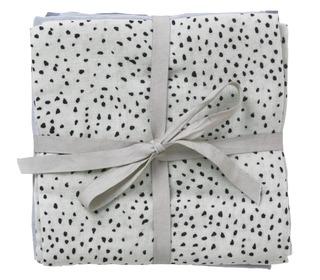 Muslin Diapers - Mint Dot - set of 3 - Ferm Living