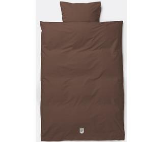 dekbedovertrek Hush bedding - Cognac - Ferm Living