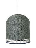 Braided Lampshade Dusty Green