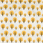 dekbedovertrek dotty yellow - Ferm Living