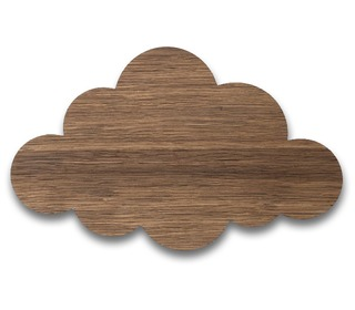 Cloud lamp Smoked Oak - Ferm Living