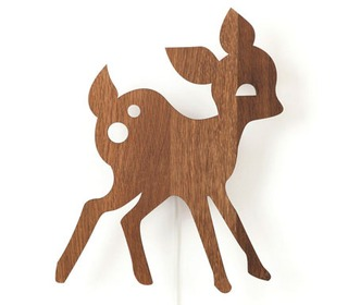My Deer Lamp Smoked Oak - Ferm Living