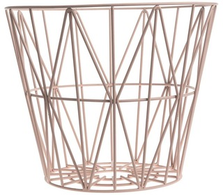 wire basket Rose - Ferm Living