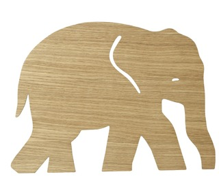 Elephant lamp - Oiled oak - Ferm Living