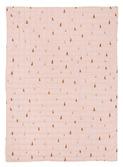 babydeken - Cone quilted - roze