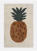 Fruiticana tufted pineapple rug - small