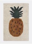 Fruiticana tufted pineapple rug - small