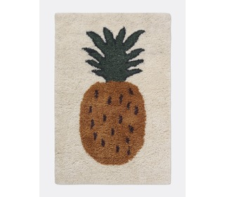 Fruiticana tufted pineapple rug - small - Ferm Living