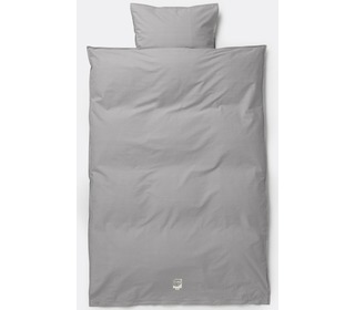 dekbedovertrek Hush bedding - Grey - Ferm Living