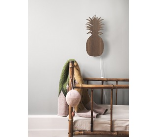 Pineapple lamp Smoked Oak - Ferm Living