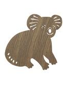 Koala lamp - Smoked oak