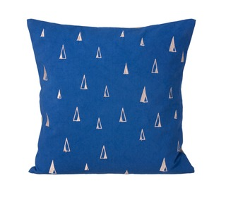 kussen cone - blue - Ferm Living