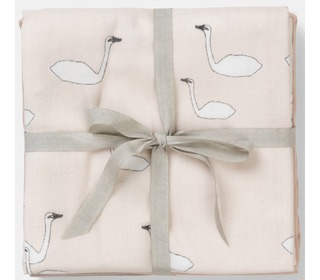Muslin Diapers - Swan Rose - Ferm Living