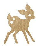 My Deer Lamp - Oiled oak