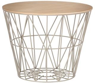 Wire basket top natuureik - Ferm Living