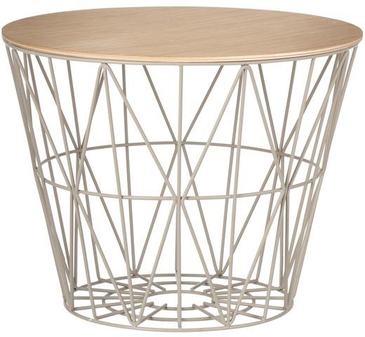 wire basket top natuureik decoratie kamerinrichting. Black Bedroom Furniture Sets. Home Design Ideas