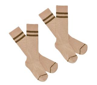 2-Pack Knee Stockings - rose - FUB