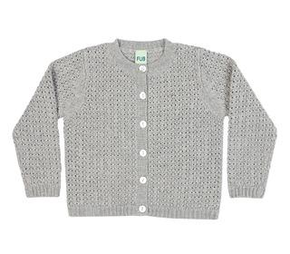 Cardigan light grey│FUB