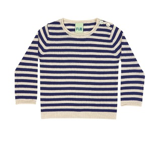 Baby simply striped blouse - FUB