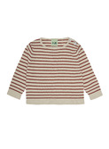 baby blouse - ecru/brick