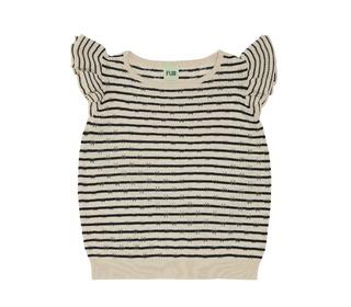 T-shirt ecru/navy - FUB