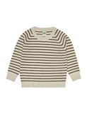 Sweatshirt - ecru/umber