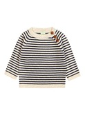 baby sweater ecru/navy
