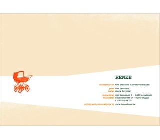 kinderwagen vanille - Paper and June
