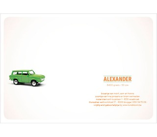 trabant groen - Paper and June
