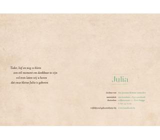 vlinder perzik - Paper and June