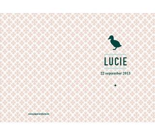 eendje roze - Paper and June