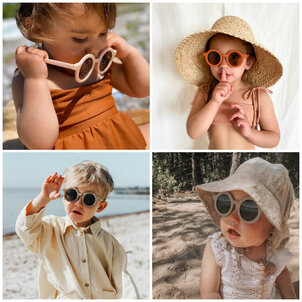 *... GRECH & CO. ...* Sustainable kids sunglasses
