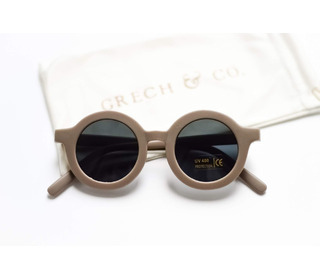 Sustainable kids sunglasses - stone - Grech & Co.