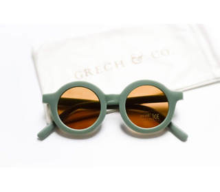 Sustainable kids sunglasses - fern - Grech & Co.