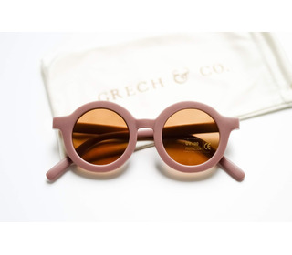 Sustainable kids sunglasses - burl wood - Grech & Co.
