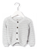 cardigan cloudy grey