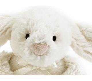rammelaar bashful crème konijn - Jellycat