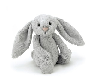 bashful silver bunny medium - Jellycat