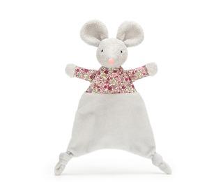 knuffeldoekje Floral mouse - Jellycat