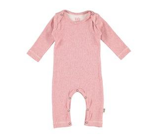 Hope organic NB USA suit light pink - Kidscase