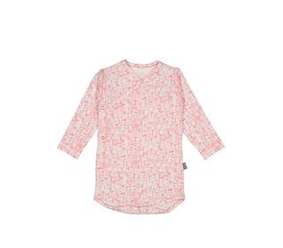 Patti organic NB body pink flower | Kidscase