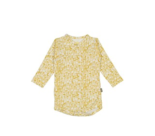 Patti organic NB body yellow flower | Kidscase