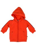 hank organic hoody red