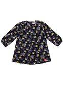 dressblouse woven black/purple | Kik-kid outlet