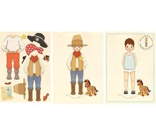 wenskaart Belle & Boo Cowboy | Belle and Boo