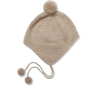 Tomami Knit Hat - creamy white - Konges Sløjd