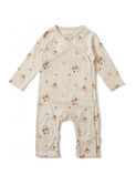New born onesie - nostalgie blush